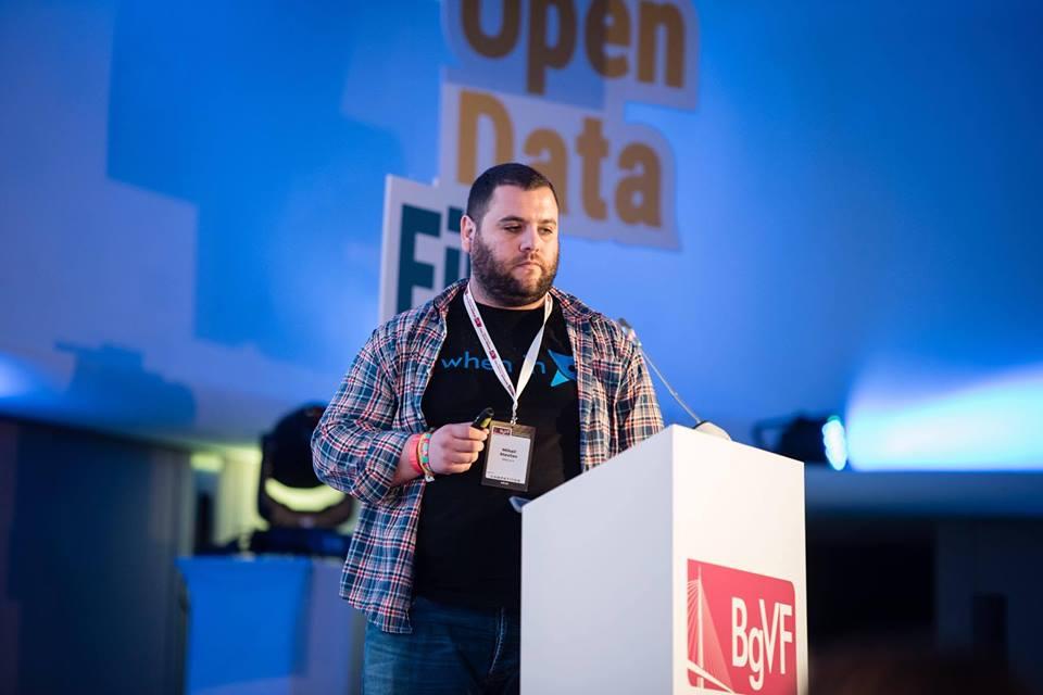 Mihail at Belgrade Venture forum