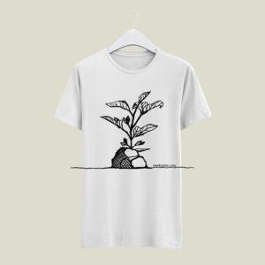 Treebanks white t-shirt