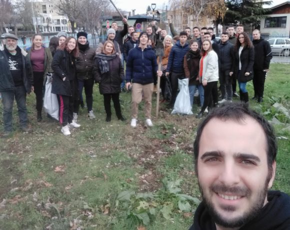 100 trees planted in Ohrid