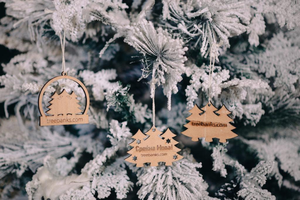 Treebanks Christmas tree ornaments