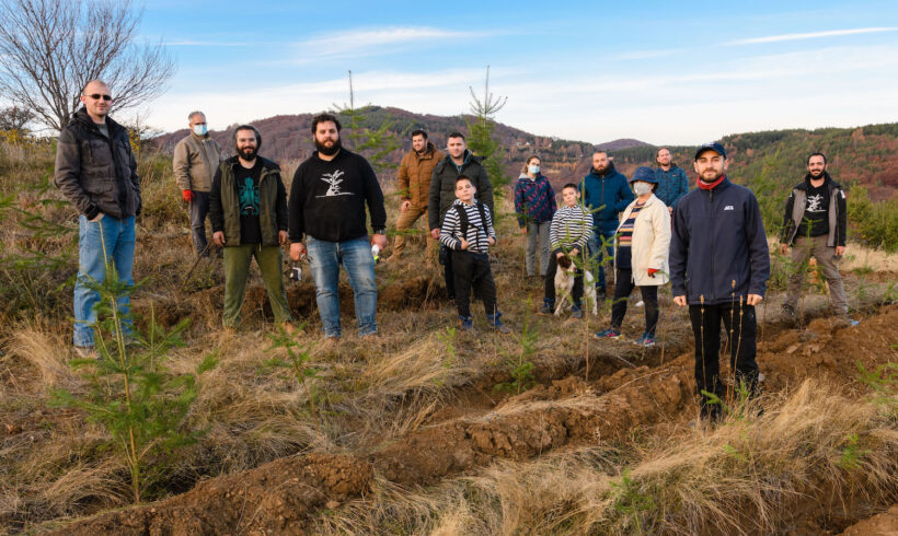4000 trees planted at Plackovica (The Treebanksers)