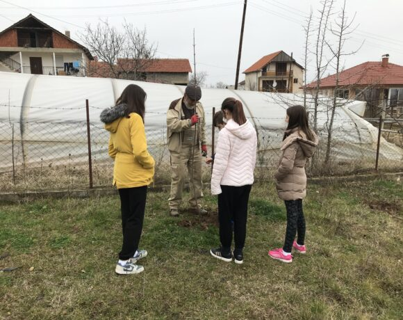 350 trees planted at Kalugerica village